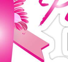 I Wear Pink For My Nana Sticker