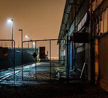 Wet Alley by Warren Morgan