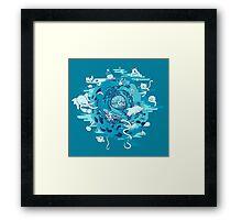 The Cell Framed Print