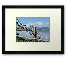 Lake Wairarapa Framed Print