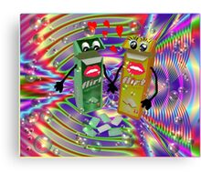 You Flirtin With Me? Canvas Print