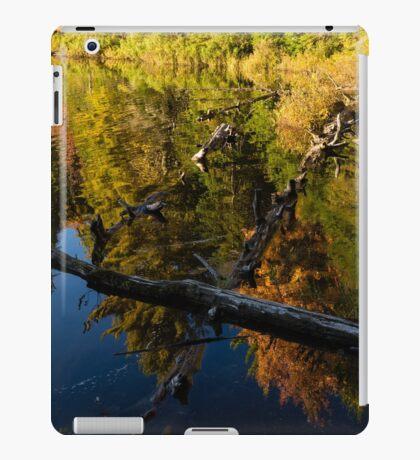 Fall Mirror - Mesmerizing Forest Lake Reflections iPad Case/Skin