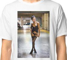 Paris Model Catchy Cat Classic T-Shirt