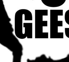 The Storyteller - Oy! Geese! Sticker