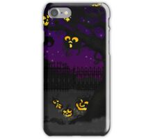 Jack O Lantern Tree iPhone Case/Skin
