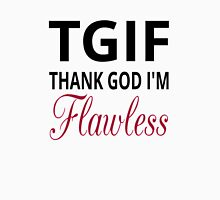 TGIF Thank God I'm Flawless Womens Fitted T-Shirt