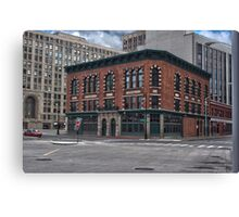 Parker Webb Building Canvas Print