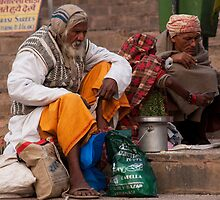 Ghat Morning by phil decocco