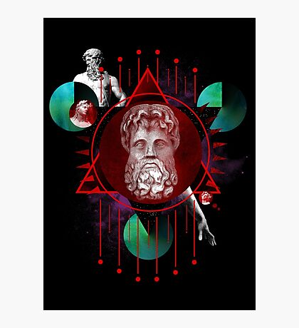 Geometric Gods Photographic Print