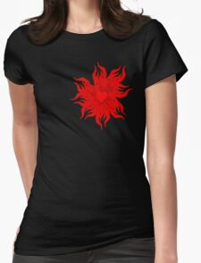 Heart Burn Womens Fitted T-Shirt