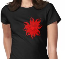 Heart Burn Womens Fitted T-Shirt