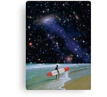 Surfer on Horizon Canvas Print