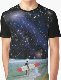 Surfer on Horizon Graphic T-Shirt