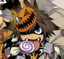 Kingdom Hearts - Happy Halloween! Sticker