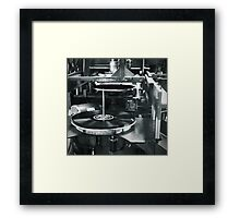 I Could Not Tell My Nose Was Bleeding Framed Print