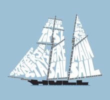 Tops'l Schooner Sail/Spar Plan by Katherine Pogue