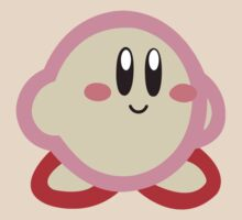 Kirby minimalist by littlekitsune