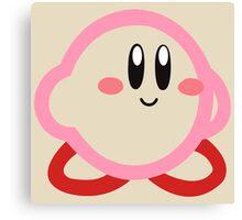 Kirby minimalist Canvas Print