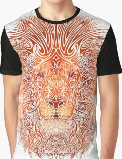 Tribal Lion Graphic T-Shirt
