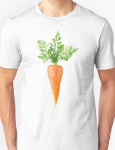 Carrot with big leaves Unisex T-Shirt