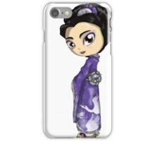 Heavenly Crane Geisha I iPhone Case/Skin