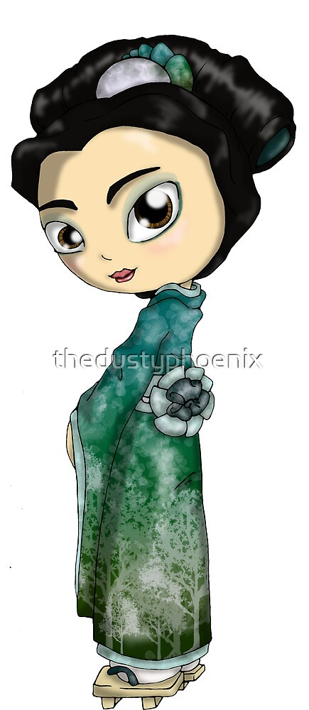 Frosted Spring Geisha by thedustyphoenix