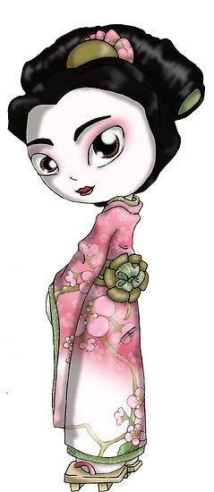 Elegant Sakura II by thedustyphoenix