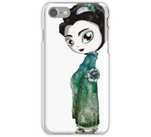 Frosted Spring Geisha II iPhone Case/Skin