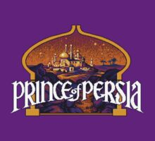Prince of Persia Pixel Style- Retro DOS game fan items by hangman3d