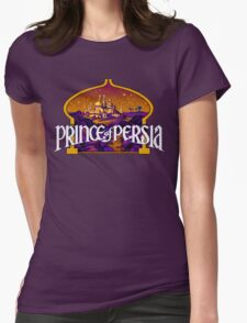 Prince of Persia Pixel Style- Retro DOS game fan items Womens Fitted T-Shirt