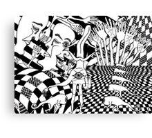 inner dimension Canvas Print