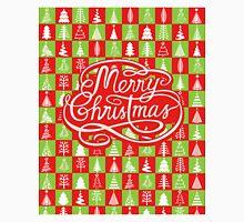 Merry Christmas Trees Unisex T-Shirt