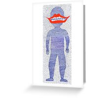 squiggly Greeting Card
