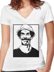 Don Ramón Women's Fitted V-Neck T-Shirt