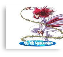 Yu Yu Hakusho Canvas Print