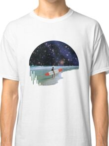 Surfer on Horizon Classic T-Shirt