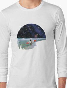 Surfer on Horizon Long Sleeve T-Shirt