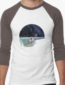 Surfer on Horizon Men's Baseball ¾ T-Shirt