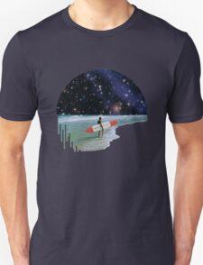 Surfer on Horizon Unisex T-Shirt