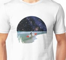 Surfer on Horizon Unisex T-Shirt