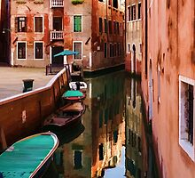 Impressions of Venice - Wandering Around the Small Canals by Georgia Mizuleva