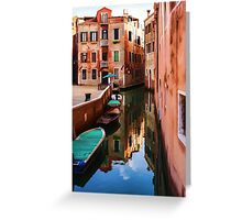 Impressions of Venice - Wandering Around the Small Canals Greeting Card