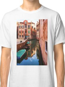 Impressions of Venice - Wandering Around the Small Canals Classic T-Shirt