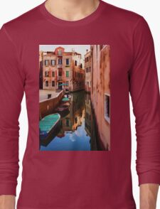 Impressions of Venice - Wandering Around the Small Canals Long Sleeve T-Shirt