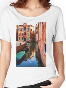 Impressions of Venice - Wandering Around the Small Canals Women's Relaxed Fit T-Shirt