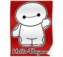 Hello Baymax - parody Poster