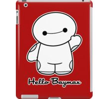 Hello Baymax - parody iPad Case/Skin
