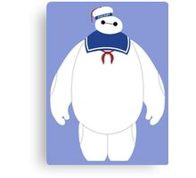 Stay Puft Baymax Parody Canvas Print