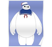 Stay Puft Baymax Parody Poster
