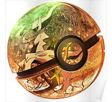 Arceus | Pokeball Art Poster